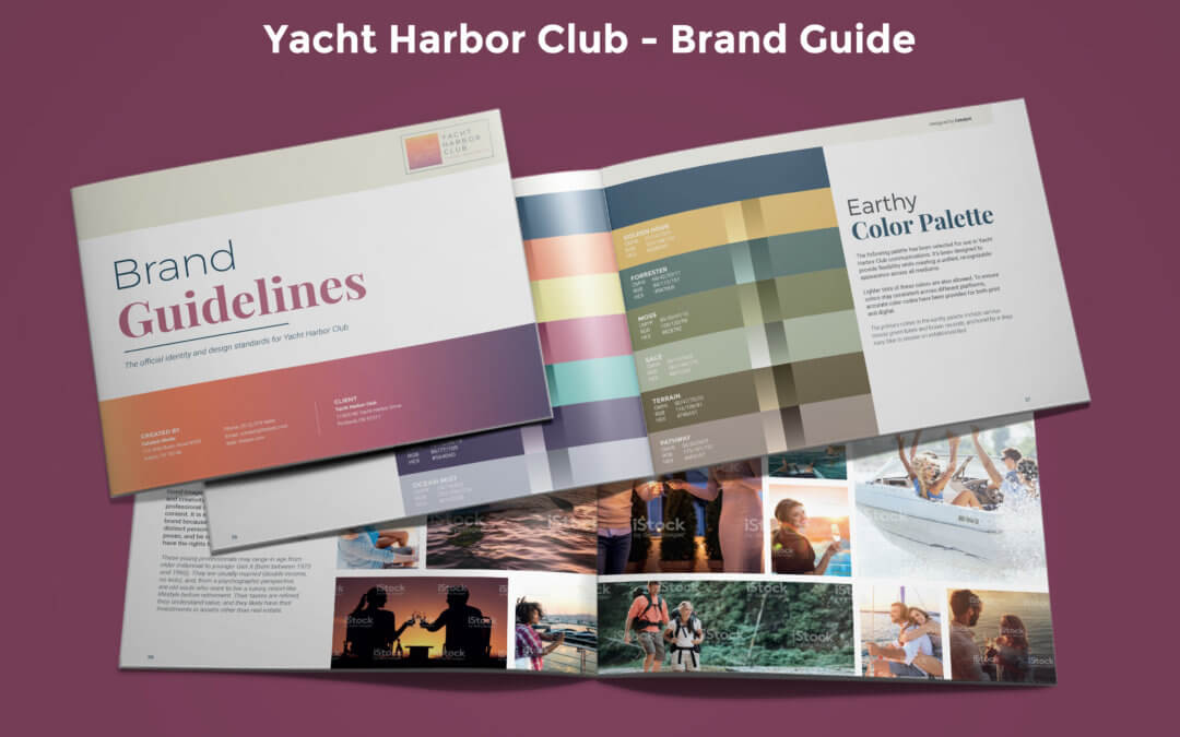 Yacht Harbor Club Rebrand